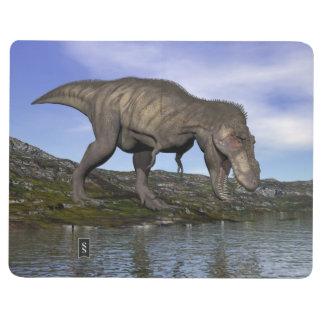 Diário Dinossauro do rex do tiranossauro - 3D rendem