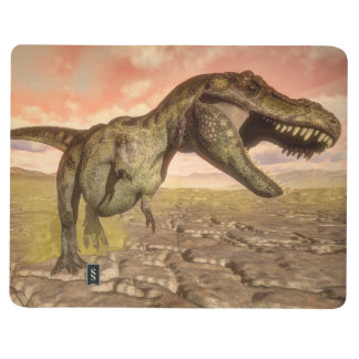 Diário Dinossauro do rex do tiranossauro que ruje