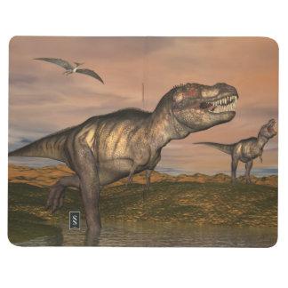 Diário Dinossauros do rex do tiranossauro - 3D rendem