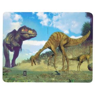 Diário Dinossauros surprising do gallimimus do rex do