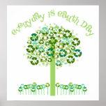 Diário é o Dia da Terra Pôsteres