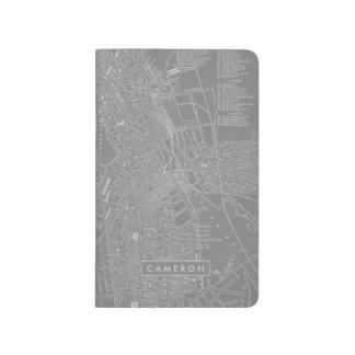 Diário Esboço do mapa da cidade de Boston