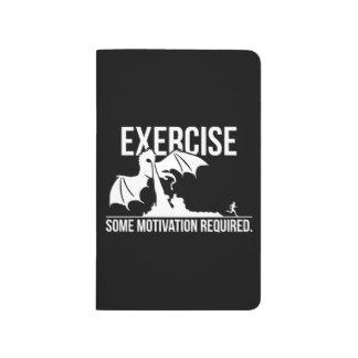 Diário Exercício, alguma motivação exigida, dragão -