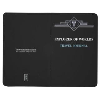 Diário Explorador dos mundos - jornal do viagem