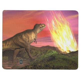 Diário Extinção dos dinossauros - 3D rendem