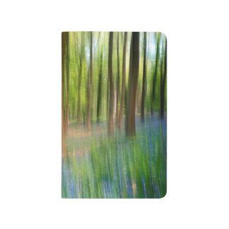 Diário Floresta BRITÂNICA do carvalho do Bluebell de