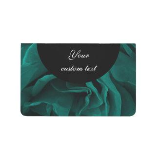 Diário Foto floral dos rosas aveludado azul esverdeado