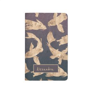 Diário Golfinho sofisticado à moda modelado