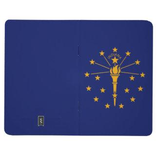 Diário Gráfico dinâmico da bandeira do estado de Indiana