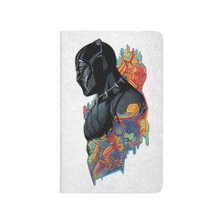 Diário Grafites tribais da pantera preta de pantera preta