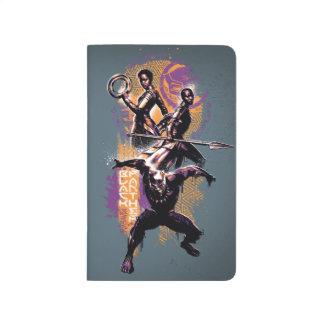 Diário Guerreiros da pantera preta | Wakandan pintados