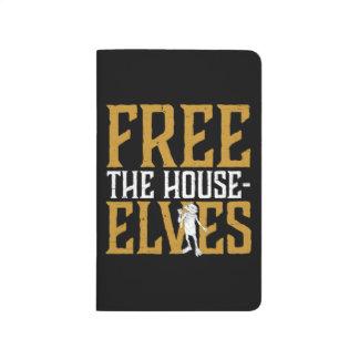Diário Harry Potter | livre os duendes da casa