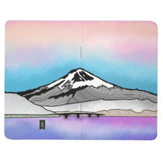 Diário Ilustração da paisagem do Mt Fuji Japão