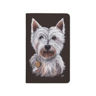 Diário Ilustração Pastel do animal de estimação do cão