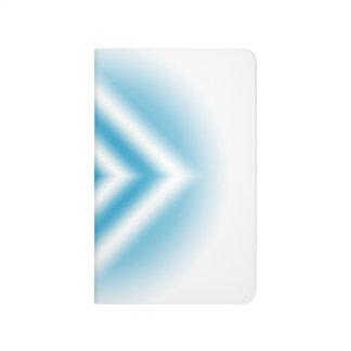 Diário inclinação azul do diamante do Personalizar-céu