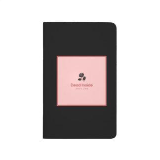 Diário Interior do morto - caderno de bolso