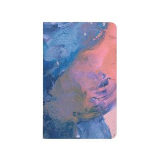 Diário Jornal do bolso da arte de Abstact - moderno