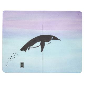 Diário Jornal do bolso do pinguim da natação