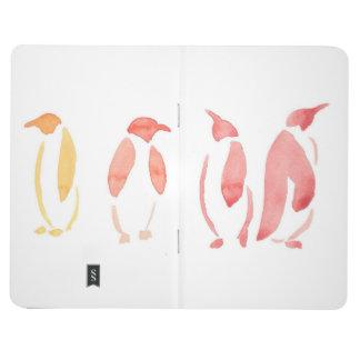Diário Jornal do bolso dos pinguins do inclinação