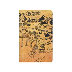 Diário Jornal histórico do mapa da baía de Sotomir