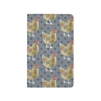 Diário Jornal ilustrado do bolso da galinha das bolinhas