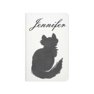 Diário Jornal personalizado do bolso do gatinho