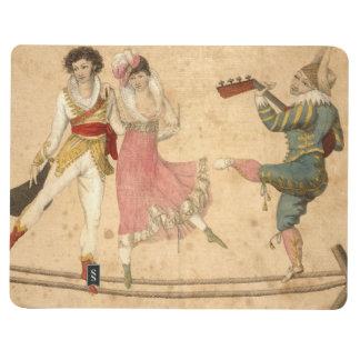 Diário Jovens que dançam e que cantam, desenho do vintage