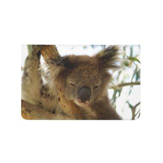Diário Koala selvagem que dorme na foto da árvore de
