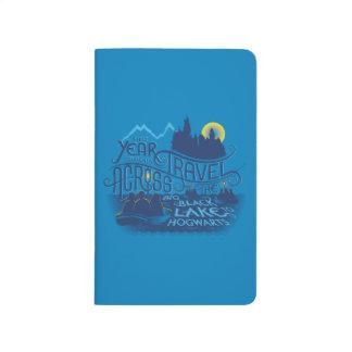 Diário Lago preto harry Potter | a Hogwarts