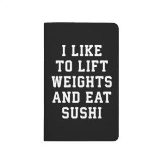 Diário Levante pesos e coma o sushi - novidade engraçada