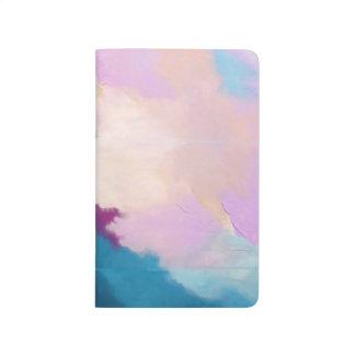 Diário Lilac com Aqua (arte de Kimberly Turnbull)