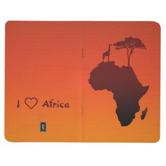 Diário Mapa africano do safari - jornal do bolso
