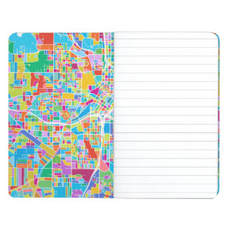 Diário Mapa colorido de Atlanta