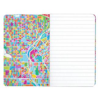 Diário Mapa colorido de Denver