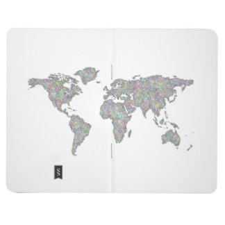 Diário Mapa do mundo