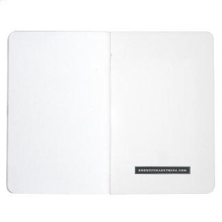 Diário Mini caderno montado vida