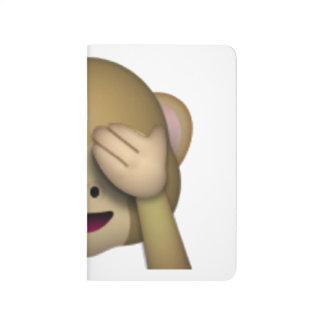 Diário Não veja nenhum macaco mau - Emoji