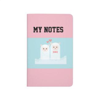 Diário Notas do amor da alpaca