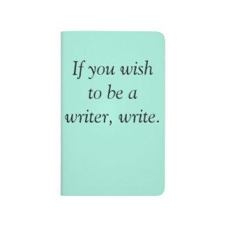 Diário O caderno do escritor