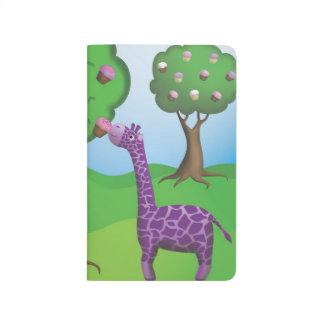 Diário O girafa prova um deleite da árvore
