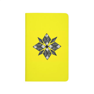 Diário O Henna inspirou o amarelo do caderno do diamante