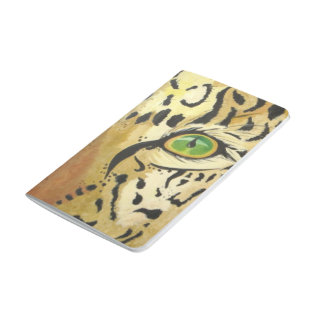 Diário O olho do leopardo (arte de Kimberly Turnbull)