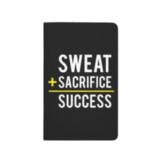 Diário O suor mais o sacrifício iguala o sucesso -