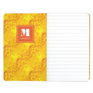 Diário O teste padrão amarelo ensolarado | adiciona seu