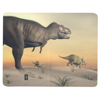 Diário O Triceratops que escapa dos tiranossauros 3D