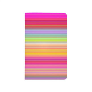 Diário Personalize - o fundo multicolorido do inclinação