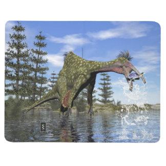 Diário Pesca do dinossauro do Deinocheirus - 3D rendem