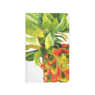 Diário Pintura tropical do abacaxi - arte de Kimberly
