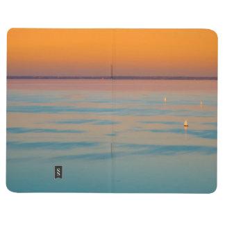 Diário Por do sol sobre o lago Balaton, Hungria