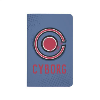 Diário Símbolo do Cyborg da escova & da reticulação da